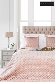 Moonlight Quilted Bedspread by Riva Home