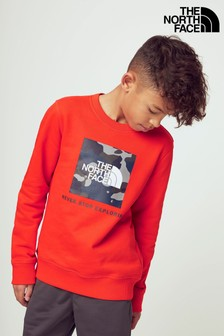 The North Face® Youth Box Crew Sweater