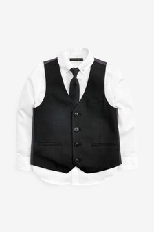 Waistcoat, Shirt And Tie Set (12mths-16yrs)