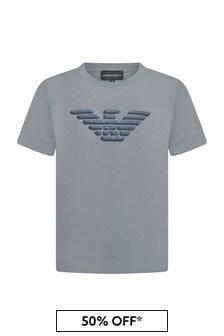 Emporio Armani Boys Grey T-Shirt