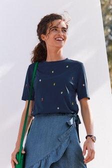 Stitch Detail T-Shirt