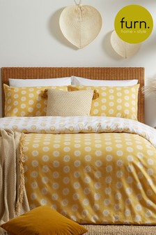 Soleil Duvet Cover and Pillowcase Set by Furn