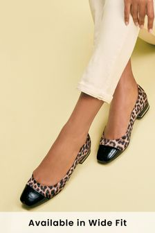 Forever Comfort® Toe Cap Ballerinas