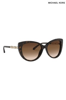 Michael Kors Dark Tort Cat Eye Sunglasses