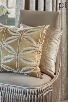 Prestigious Textiles Aphrodite Gilt Feather Cushion