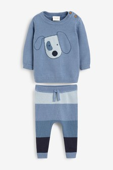 Knitted Jumper and Leggings Set (0mths-3yrs)