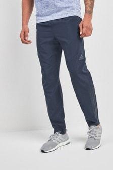 Темно-синие тканые спортивные брюкиadidas Cool
