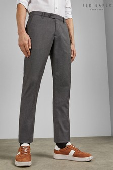Ted Baker Seanm Slim Fit Textured Trousers