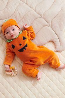 Halloween Velour Sleepsuit (0mths-3yrs)