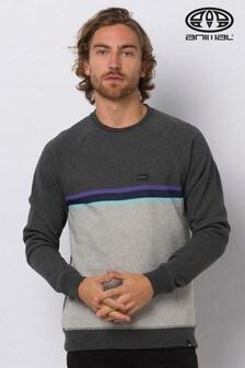 Animal Grey Lakeside Crew Sweater