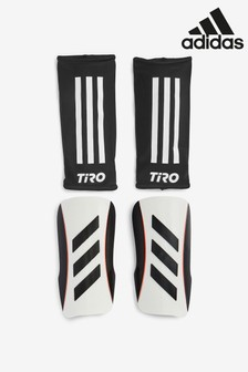 adidas White Kids Tiro Shinguards