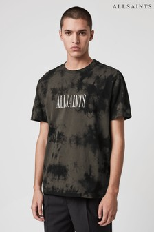 AllSaints Tie Dye Bracket T-Shirt