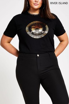 River Island Tiger Printed T-Shirt