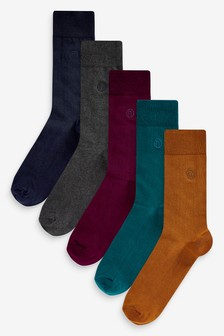 N Logo Socks Five Pack