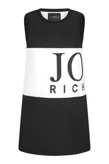 John Richmond Girls Black Cotton Dress