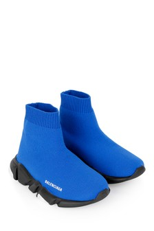 Kids Blue Speed Trainers