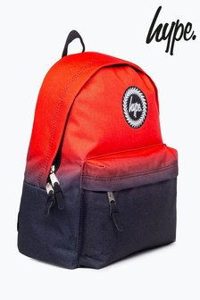 Hype. Red Fade Backpack