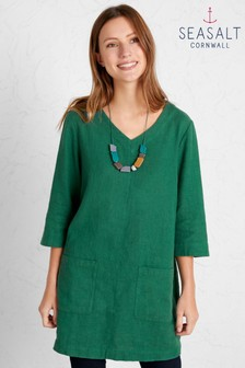 Seasalt Green Delicate Shading Tunic