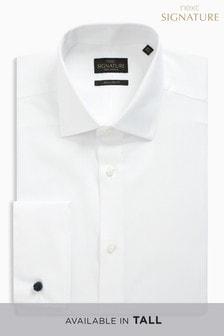 Teksturowana koszula Signature