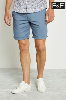 F&F Blue Chino Shorts