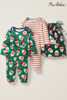 Boden Green Cosy Rompers Two Pack