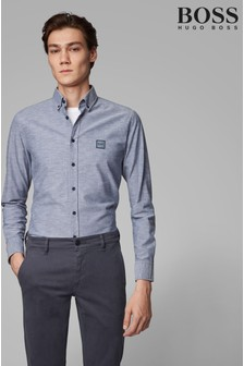 BOSS Mabsoot Oxford Logo Shirt