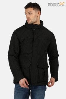 Regatta Black Rawson Waterproof Jacket