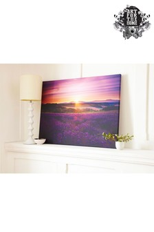 Lavender Sunset Wall Art by