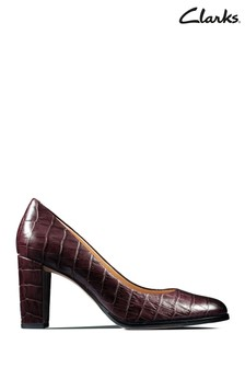Clarks Red Kaylin Cara Shoe