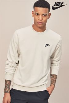 Nike Light Bone Club Fleece Crew