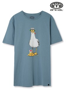 Animal Lead Grey Chippa Graphic T-Shirt