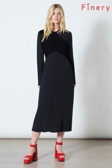 Finery London Gracie Contrast Bodice Dress