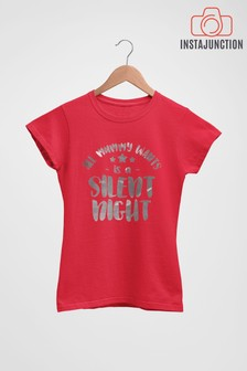 Silent Night T-Shirt by Instajunction