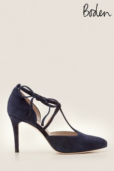 Boden Blue Ines Heeled Shoes