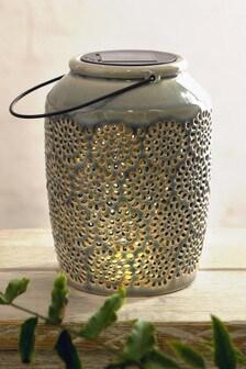 Solar Ceramic Lantern