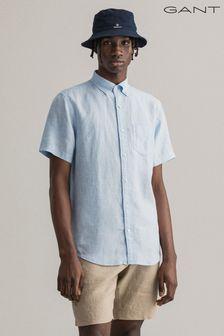 GANT Regular Linen Short Sleeve Shirt