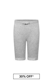 Guess Boys Grey Fleece Shorts