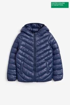 Benetton Navy Padded Jacket