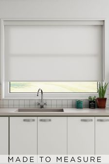Star Oyster Grey Made To Measure Light Filtering Roller Blind