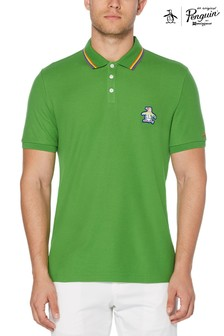 Original Penguin® Short Sleeved Multi Sticker Pete Pride Polo