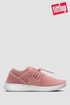 FitFlop™ Pink Airmesh Elastic Slip-On Sneakers