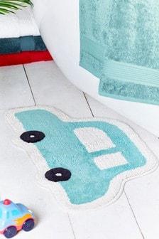 Коврик для ванной в виде машины