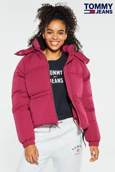 Tommy Jeans Red Detail Padded Jacket