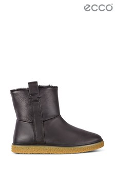 Ecco Black Pull-On Boot