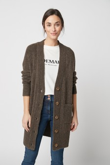 Lofty Longline Boyfriend Cardigan