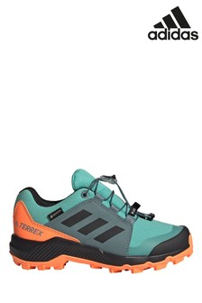 adidas Blue/Orange Hiking Shoes