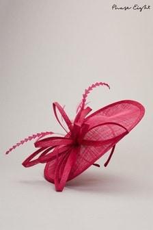 Phase Eight Pink Chiara Disc Fascinator