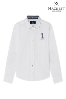 Hackett White Casual Shirt