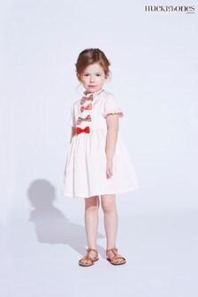 Hucklebones Pink Bow Dress
