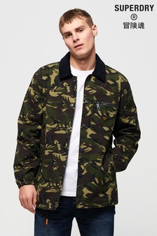 Superdry Supersonic Canvas Coach Jacket